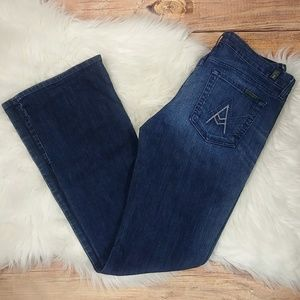 """7 for All Mankind """"A"""" pocket jeans size 30"""